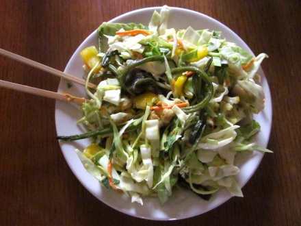 Curried Raw & Roasted Salad