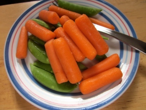 Carrots and Snap Peas